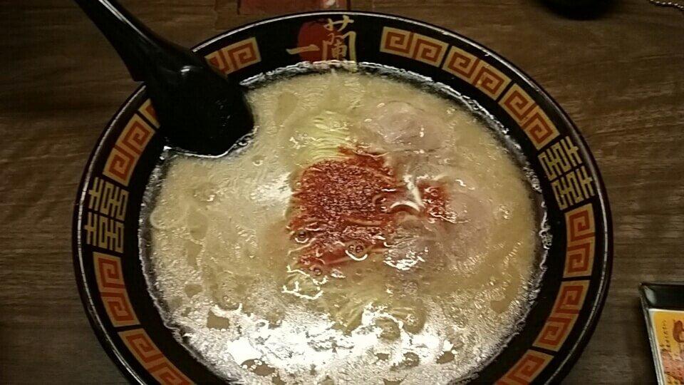 【一蘭】徹底的にこだわり抜いた天然とんこつラーメン専門店!