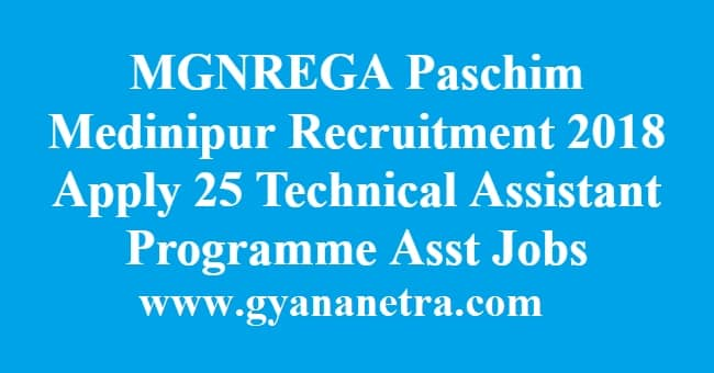 MGNREGA Paschim Medinipur Recruitment