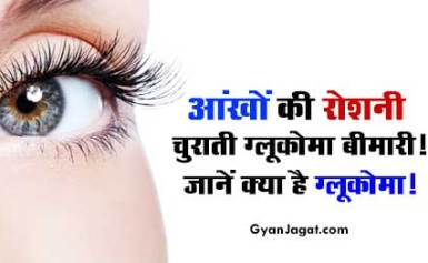 आंखों की रोशनी चुराती ग्लूकोमा बीमारी।