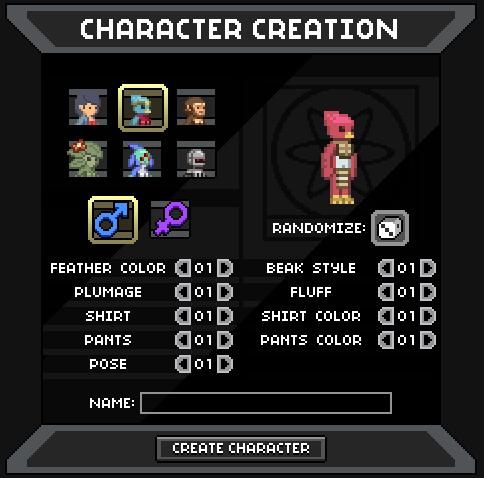 The Character Creator Machine Starbound (PC) Indie Preview Starbound (PC) Indie Preview 449d3330f99f59ca00a286ff0b63eeb8