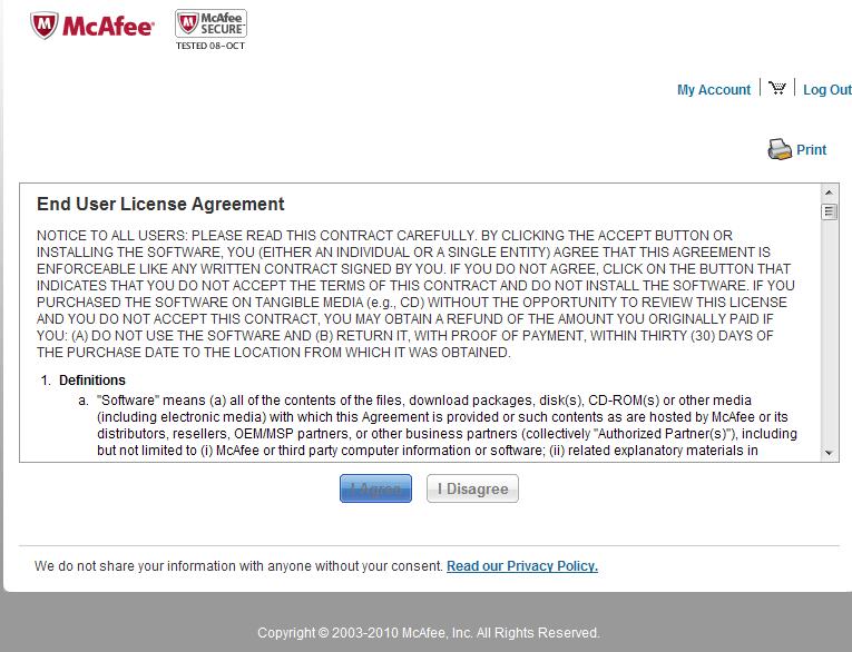 《【防毒】McAfee免費官方半年試用版】》〝原創〞 - henman0123的創作 - 巴哈姆特
