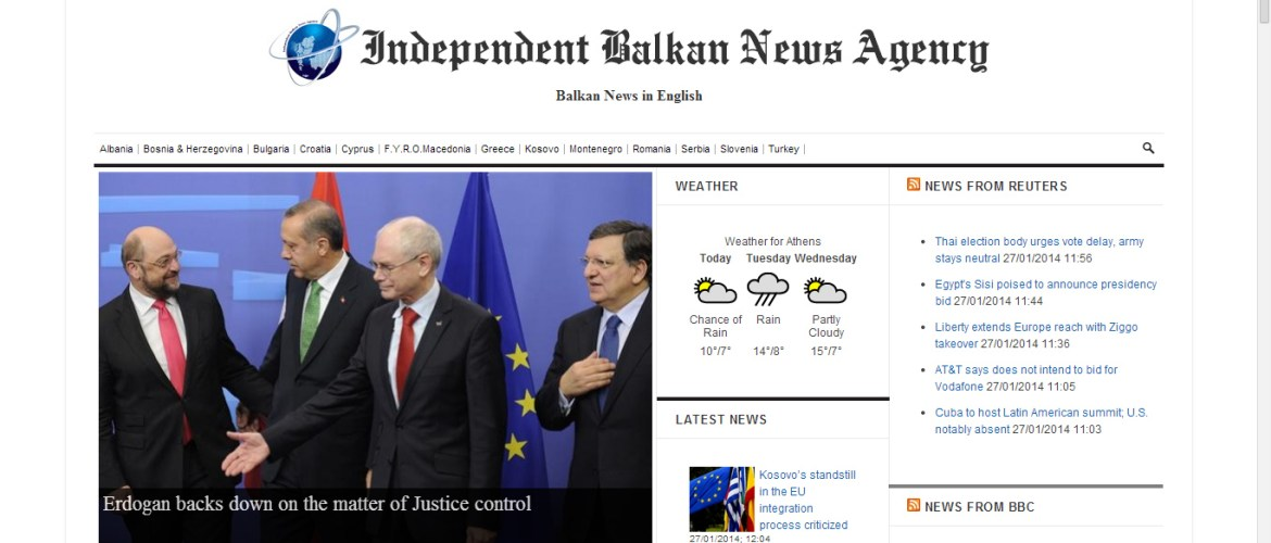 Independent Balkan News Agency