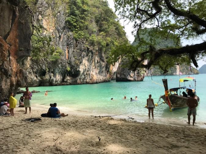 vacker stand i thailand