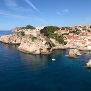 vy över Dubrovnik på Gyllintours reseblogg