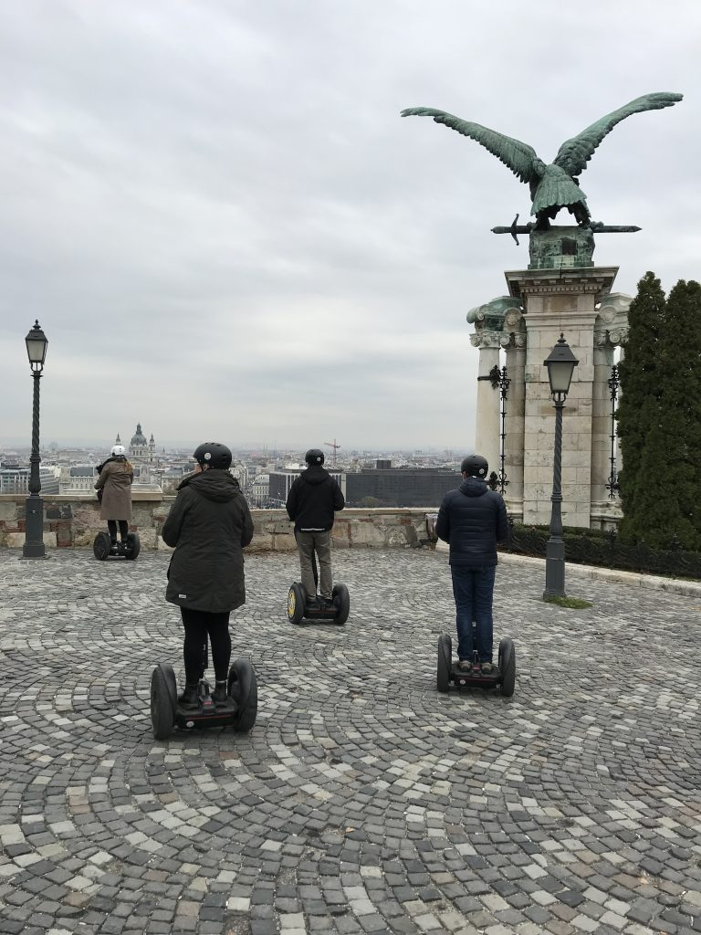 on segway