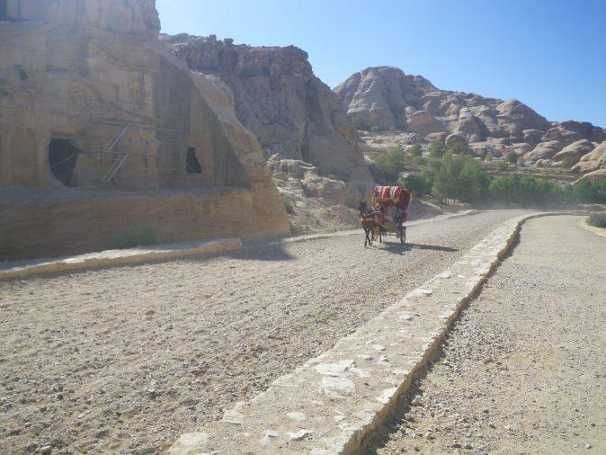 transport i Petra