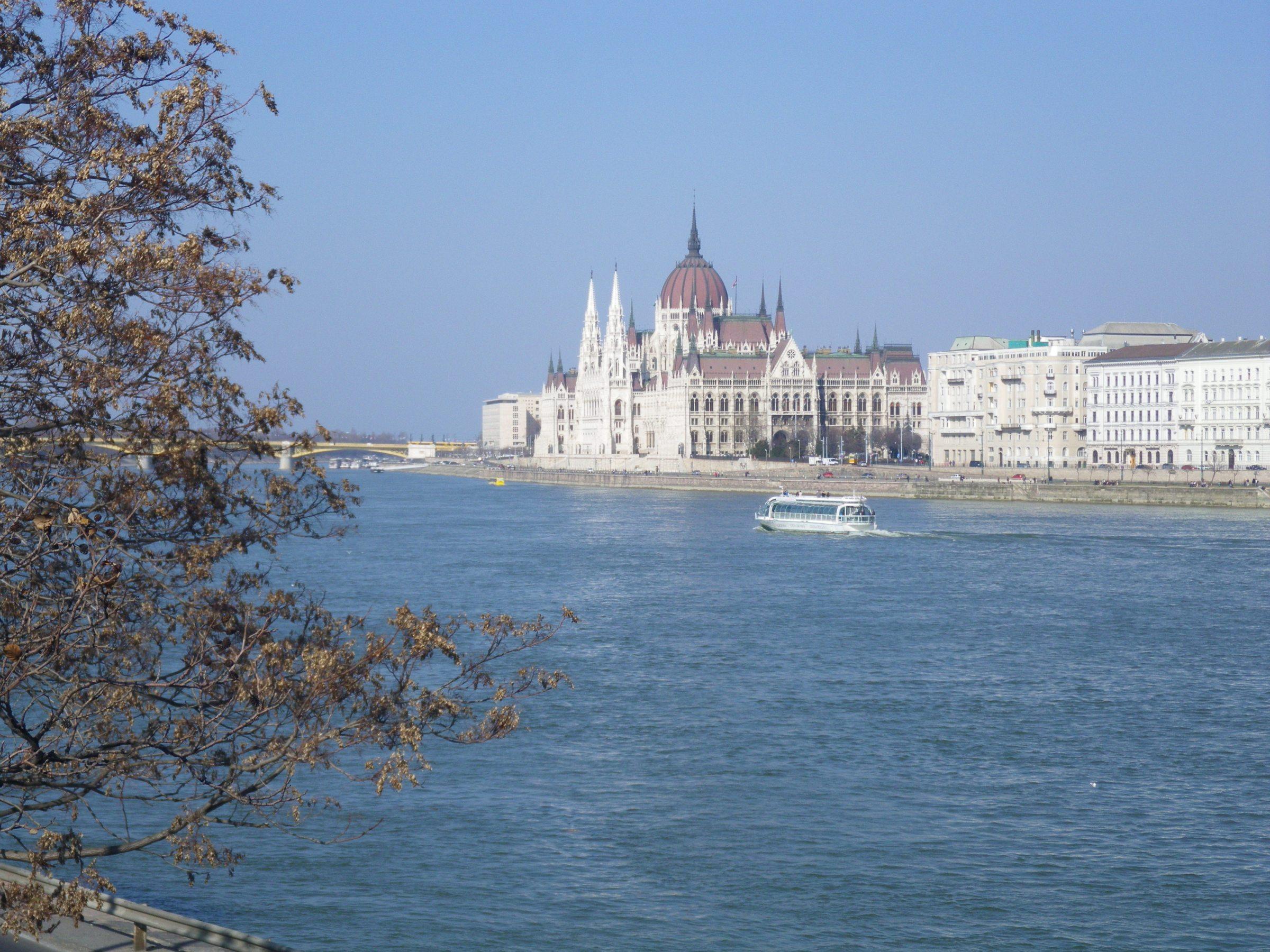 bild över Budapest