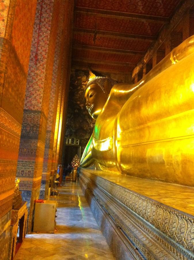 Den liggande buddhan