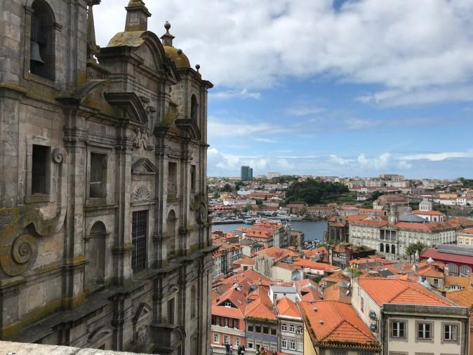 vy över Porto
