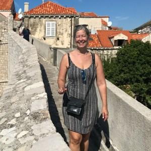 Eva Gyllin i Dubrovnik