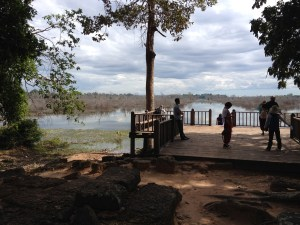 sjö i Ankor