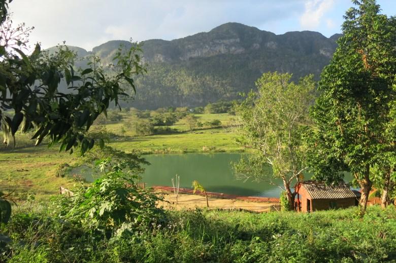 lake in Vinales