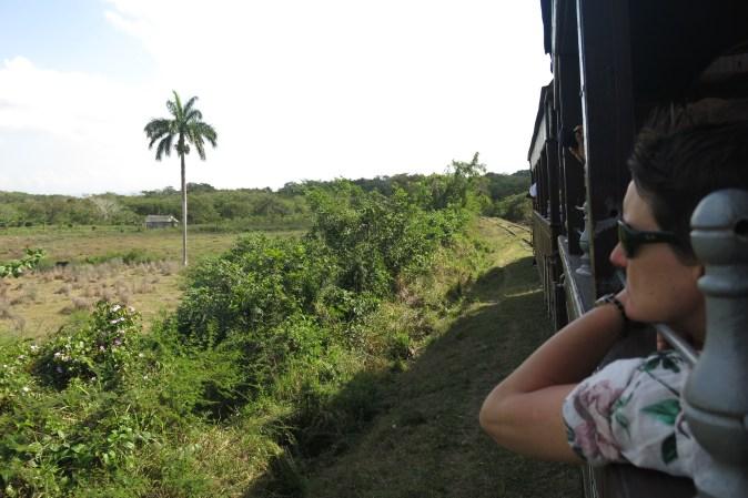utsikt från turisttåget i Trinidad