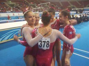 בנות נבחרת הג'וניור של ישראל