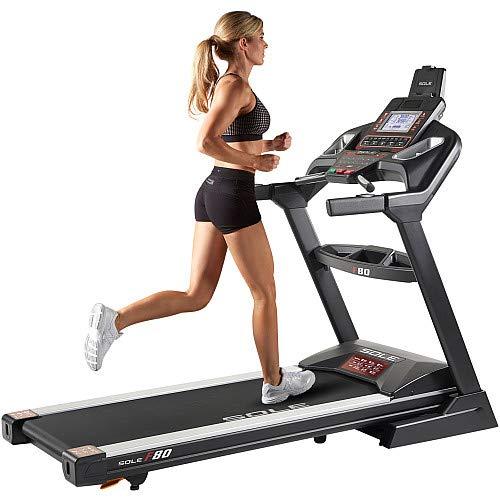 Sole Fitness F80 Folding Running Quite Treadmill