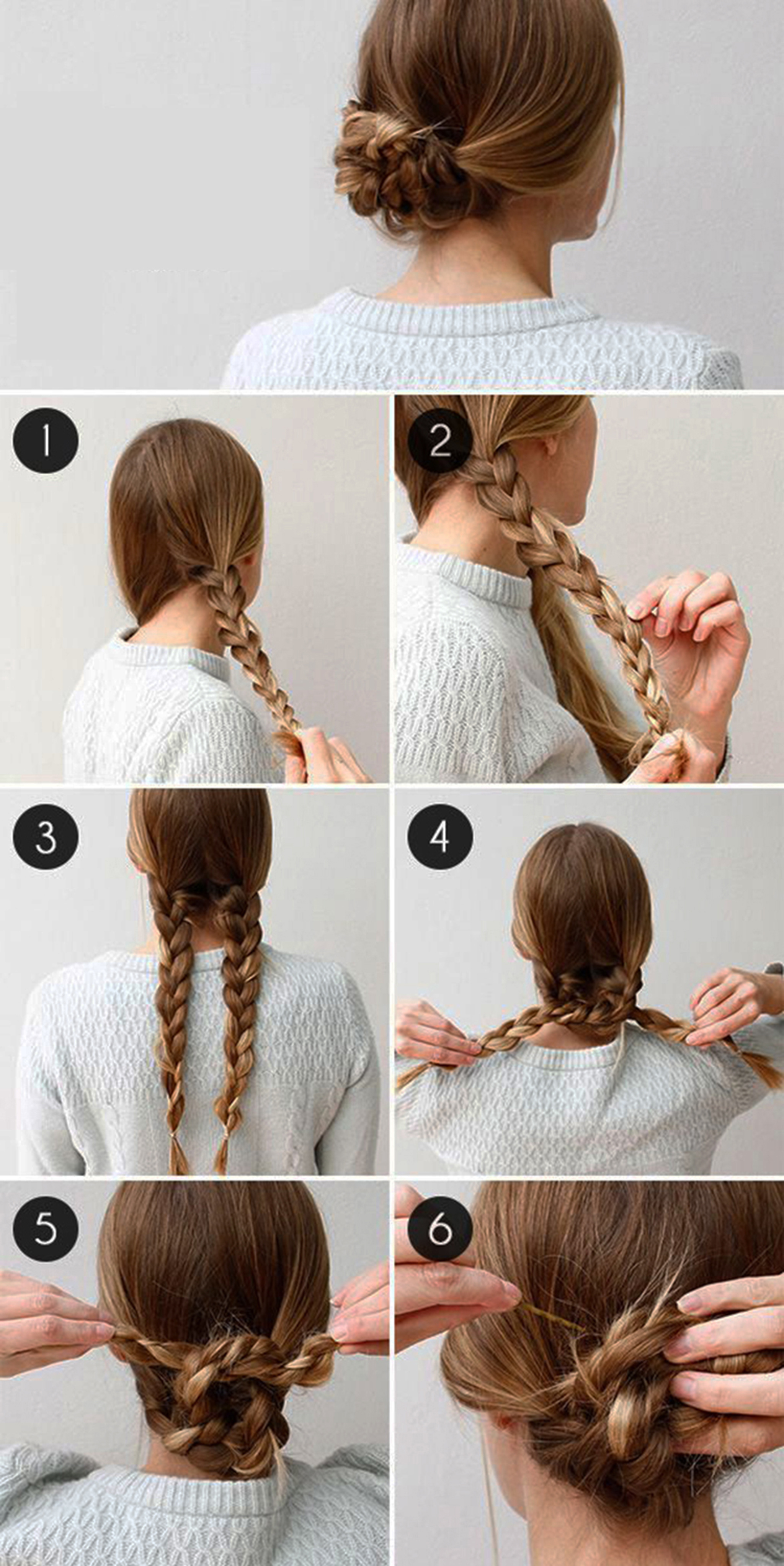 cool easy hairstyles braids
