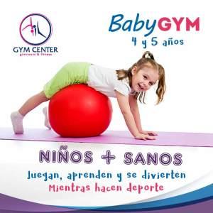 Baby Gym una actividad de iniciación a la gimnasia