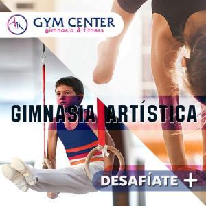 Actividades en Gym Center Gimnasia Artística para niños, niñas y jóvenes