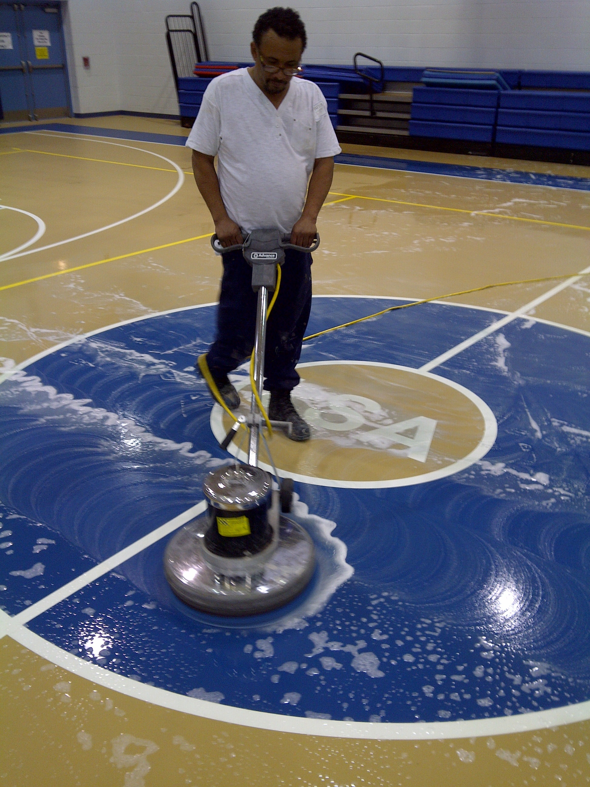 Cleaning A Slippery Floor Commercial Floor Cleaning And