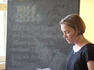 Frau Dr. Warnecke bei ihrem Grußwort