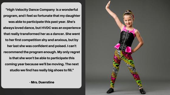 dance testimonial
