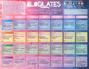 Blogilates challenge