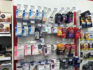 Kondome im Supermarkt