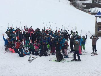 Skilager der Klassen 6bc in Saalbach-Hinterglemm