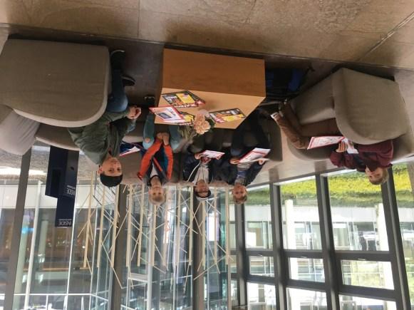 Besuch beim Randomhouse-Verlag (4)