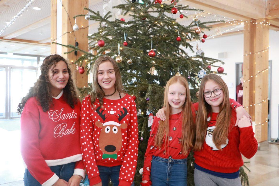 Weihnachtsmädels