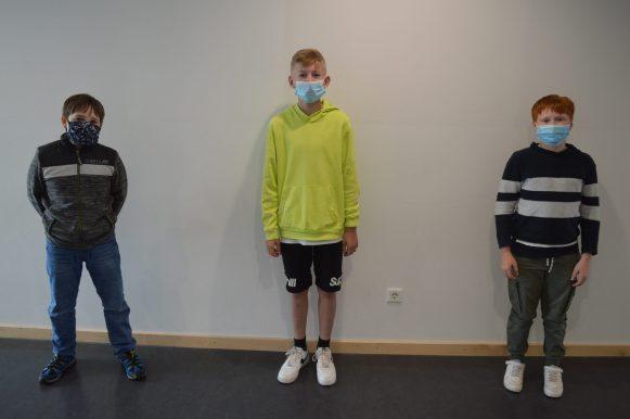 Masken + Mindestabstand