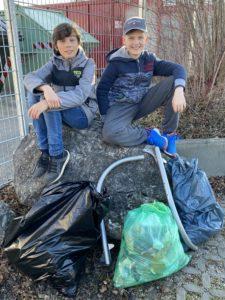 Müllsammelchallenge