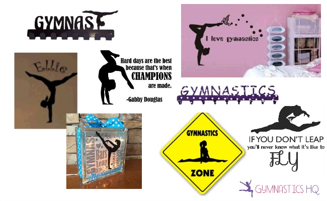 gymnastics gifts room decor
