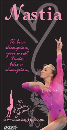 nastia liukin gymnastics quote