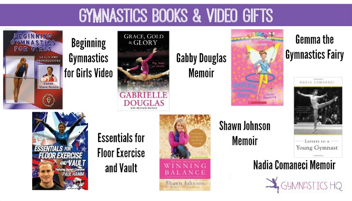 gymnastics books and video gifts