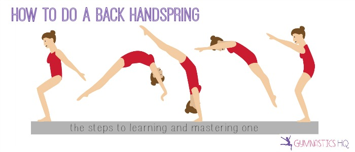 how to do a back handspring