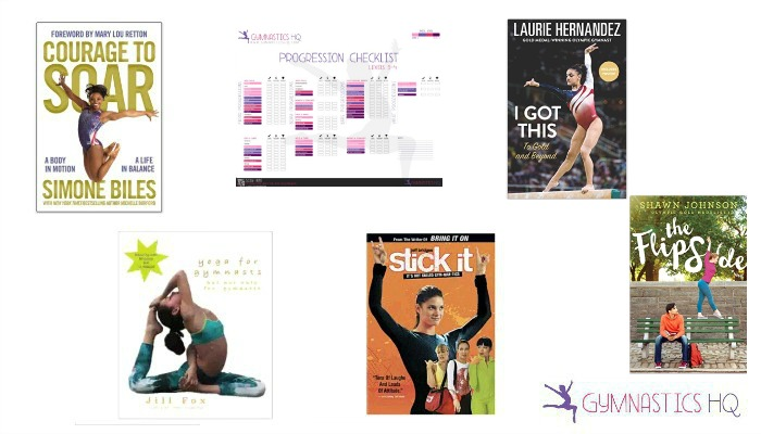 gymnastics gifts books and posters