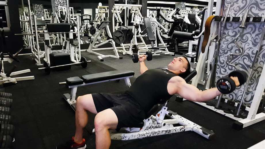 Incline Dumbbell Flys