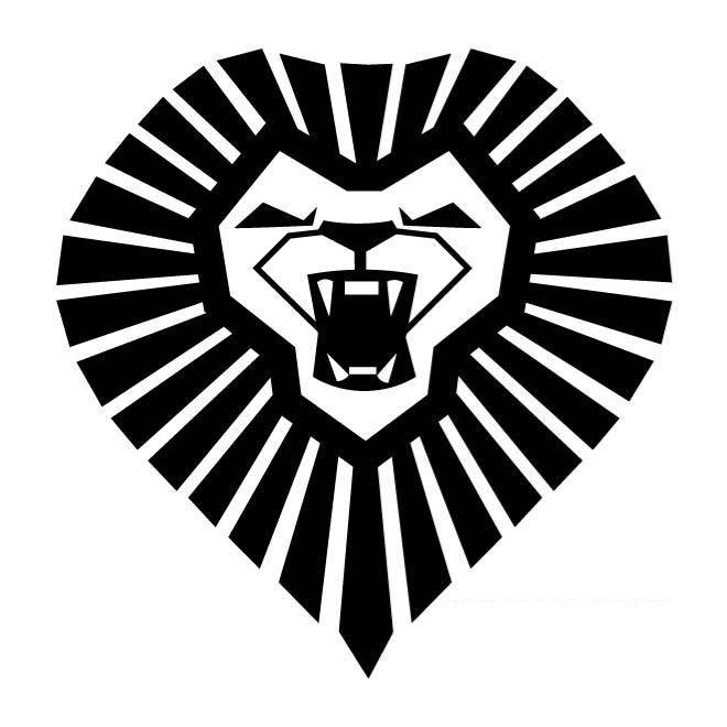 Lion Head Symbol Car Decal Sticker Gympie Stickers