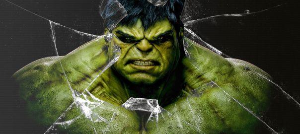 Muscles like hulk