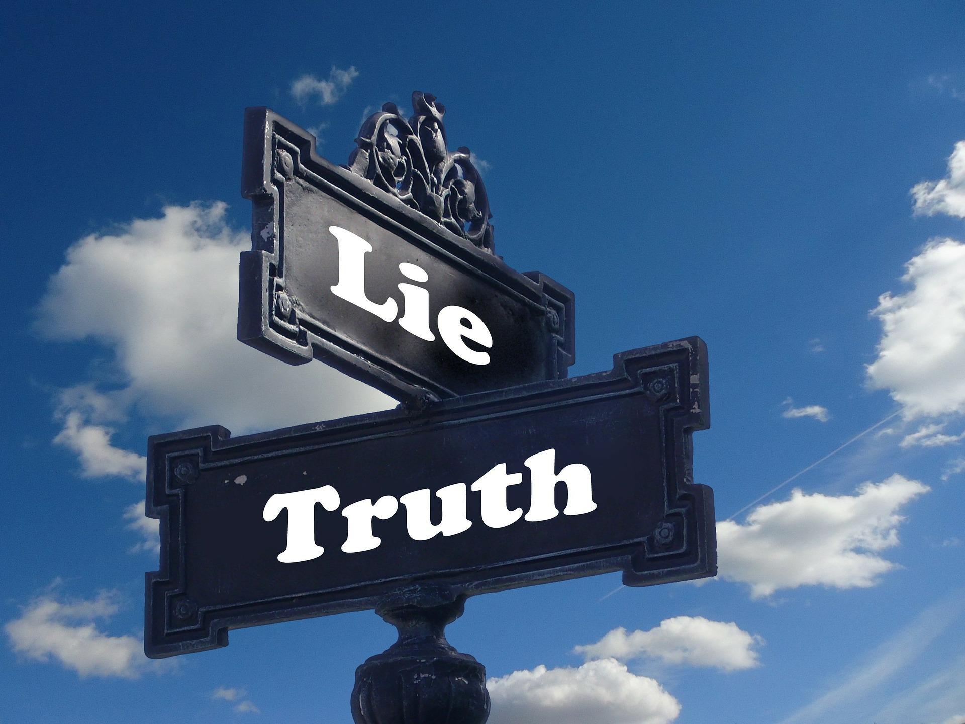 Αληθινά ψέματα.