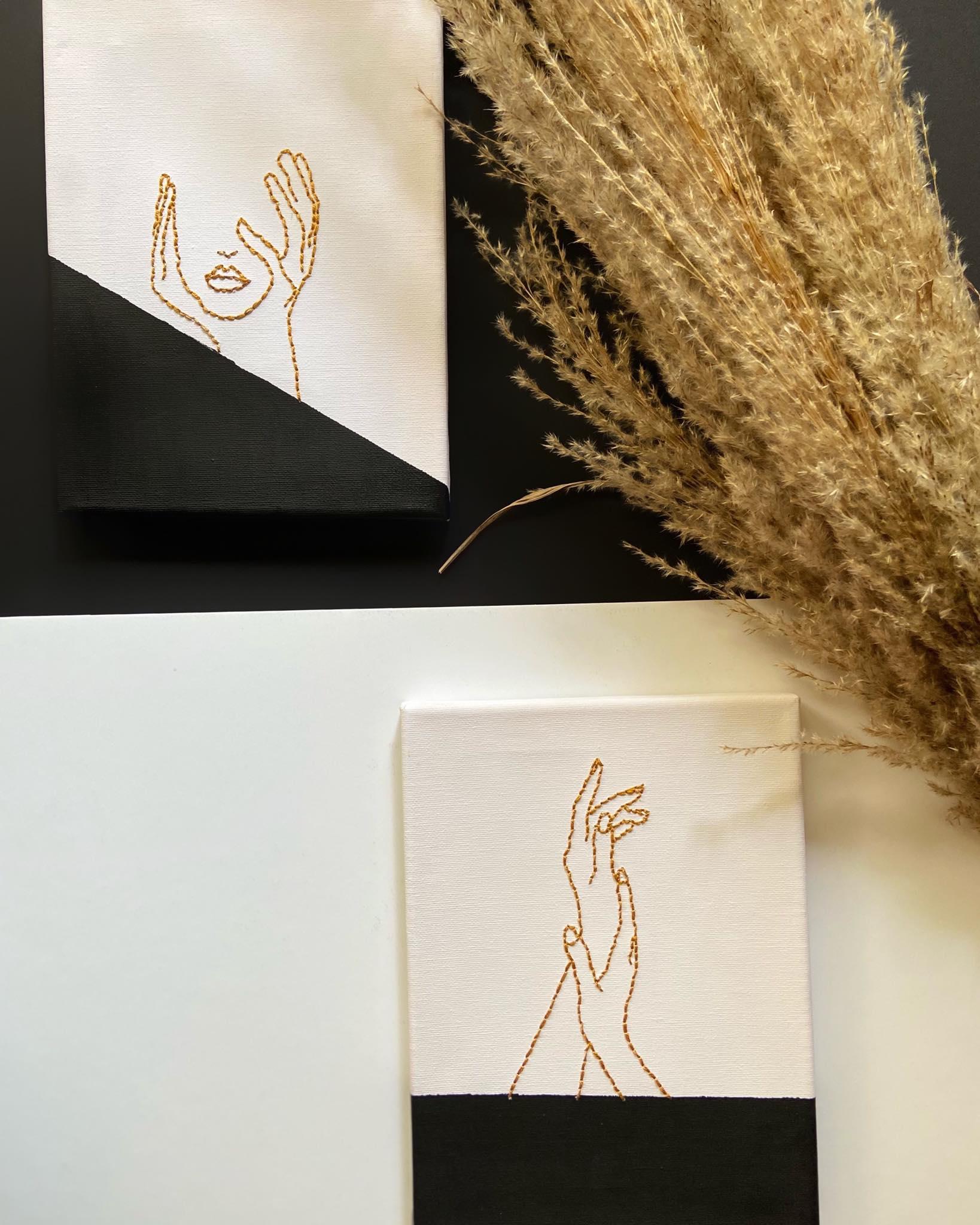 Χειροποίητοι καμβάδες – Μικρά έργα τέχνης!