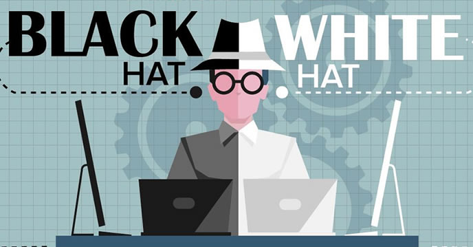 Três tipos de SEO - Black Hat, White Hat e Grey Hat