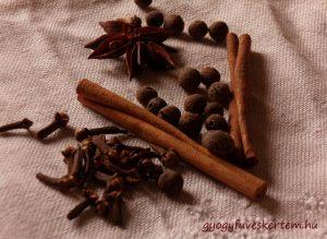 Békebeli habos kakaó karácsonyi fűszerekkel, melegítő