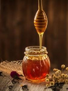 méz, vitaminok, ásványi anyagok, enzim