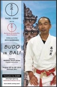 Budo in Bali 2019 Flyer - AGRAF