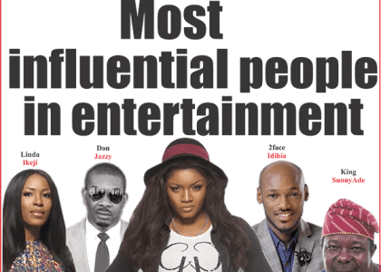 NET 2013 most influential people in the Nigerian entertainment industry
