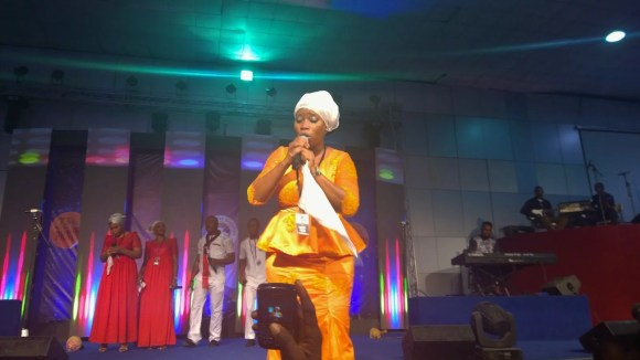 Yetunde Are at RCCG's 73 Hours 2015 00