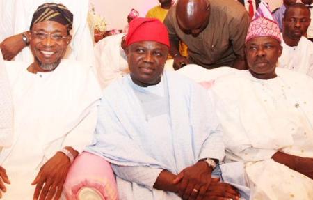 Ogbeni Rauf Aregbesola, Gov Akinwumi Ambode and Senator Ibikunle Amosun