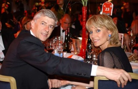 Arsene Wenger and Split Wife